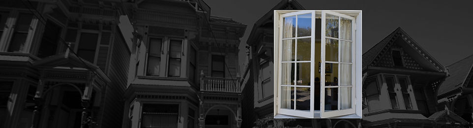 Hinged old Wooden Window Repair Contractor in San Francisco