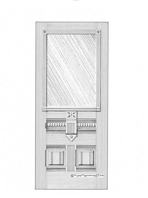 Duboce 1-L San Francisco Victorian Front Door
