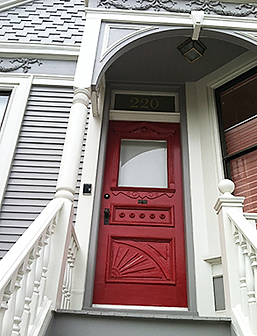 Best original Antique Victorian Door in San Francisco