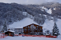 Hotel Gemse im Winter