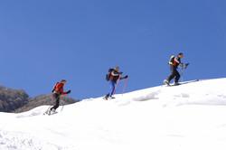 Skitourengruppe