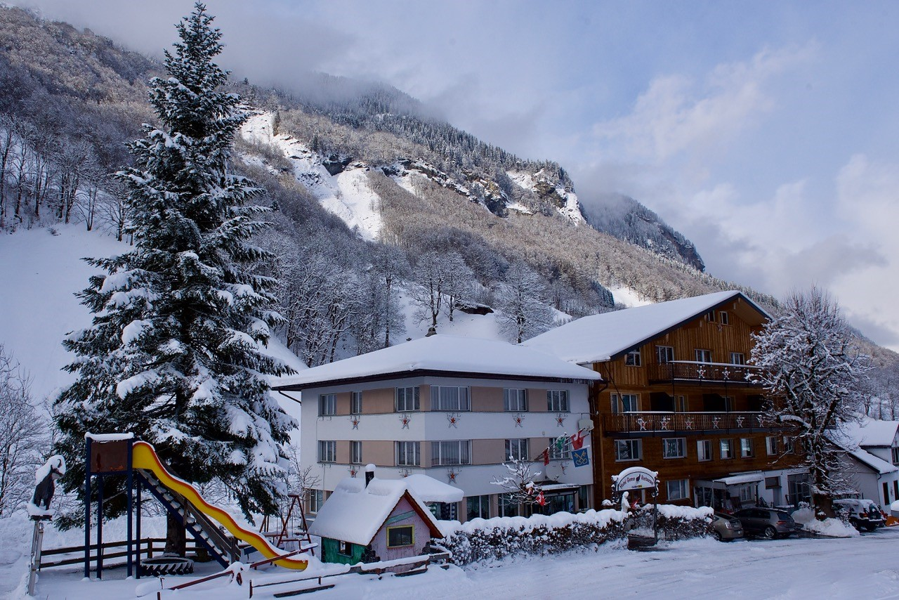 Hotel Gemse im Winter