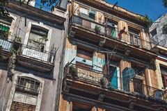 Balkone in Kuba Havanna