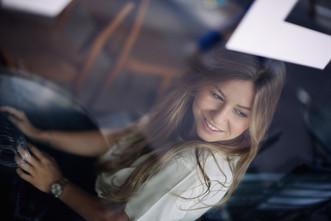 Fotos im Cafe Frauen professionel