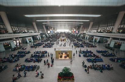 Bahnhof Peking