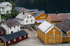 Little Town in Norway