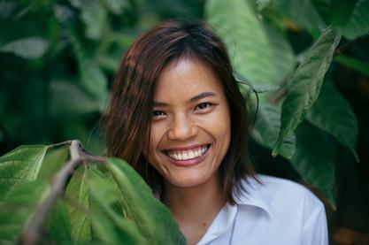 Portrait Vietnamese Girl