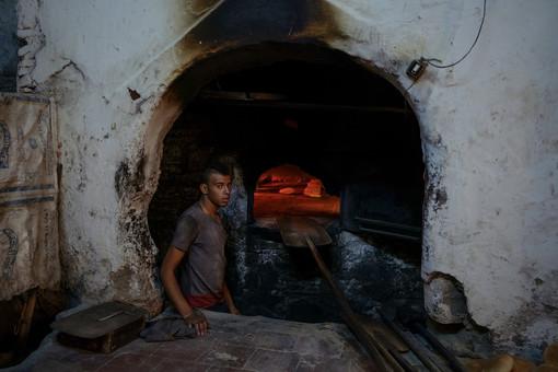 traditionelle Bäckerei Marokko