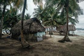 San Blas Inseln Eingeborene
