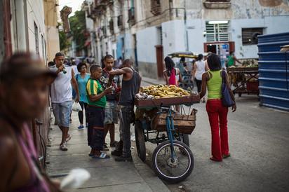 Rumverkäufer Havanna Kuba