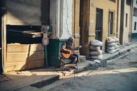 Gitarrenspieler Havanna Kuba