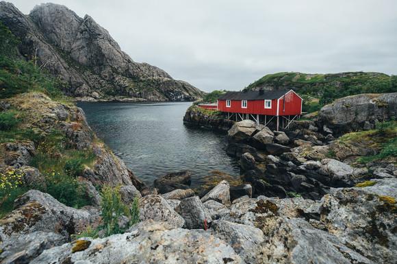 Fisherhouse rent Norway