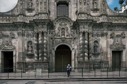 Kirchen in Quito Ecuador UNESCO