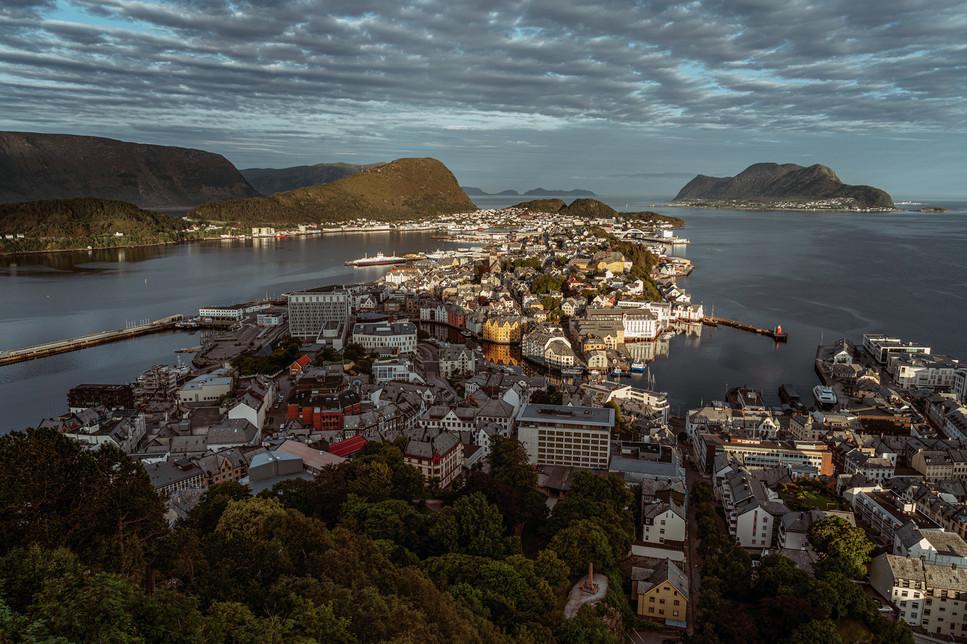Alesund Sunrise Norway