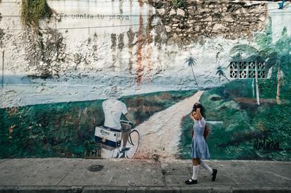 Streetart Cartagena Colombia