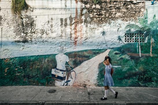Amazing Streetart Cartagena Colombia