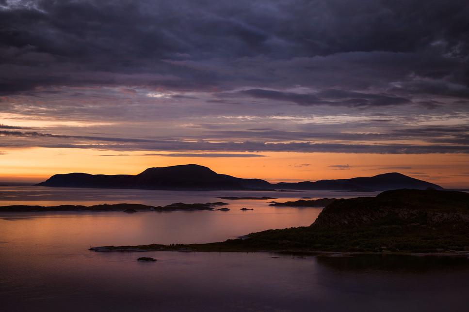 Sunset Norway Alesund