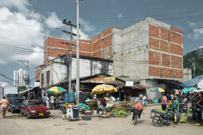 Markt in Cartagena Kolumbien