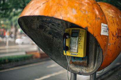 Telefonzelle China