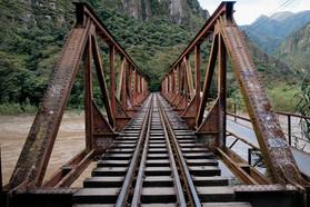 Machu Picchu Bridge Train