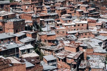 Medellin Favelas Photos