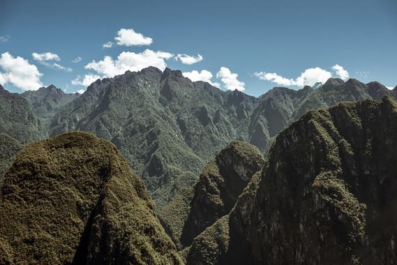 Landscapes in Peru