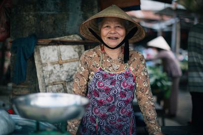 People in Mekong Delta Vietman
