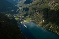 geirangerfjord Drone photos