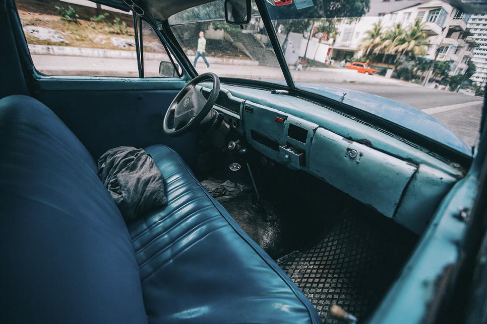Auto von Innen Kuba