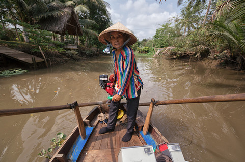 Mekong Delta Transport Boot
