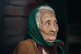 Alte Menschen Vietnam
