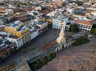 Dronenfoto Cartagena Kolumbien