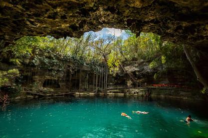 Cenote Ek Balam Mexico