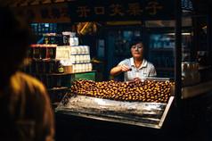 Essen Markt in China