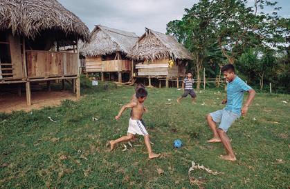 Fussballspiel Panama