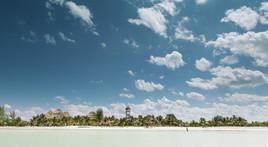 Isla Holbox Beach Strip