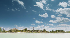 Isla Holbox Beach Strip