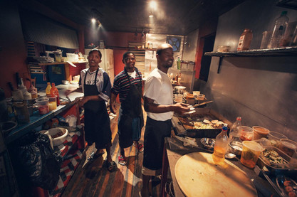 Best kitchen in Belize Caye Caulker