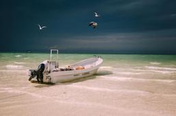 Fischerboot Mexiko