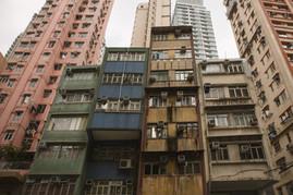 Strassenschluchten Hong KOng