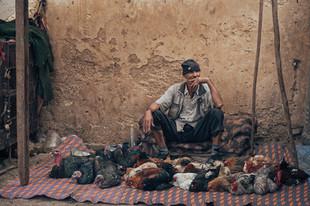 Händler in Marokko