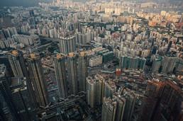 Hong Kong Aussicht auf Stadt
