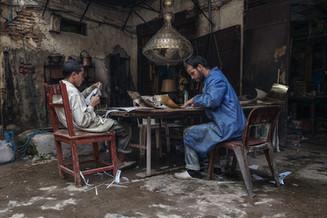 Traditionelle Lampen Marokko