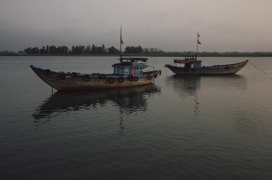 Old Boats Vietman