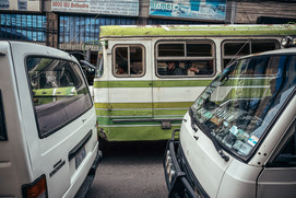 Green Bus Bolivia La Paz