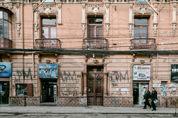 Bolivia Street Photography Architecture