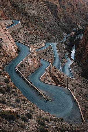Gorges du Dades Marokko
