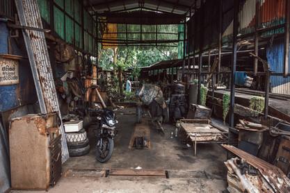 Werkstatt Sri Lanka