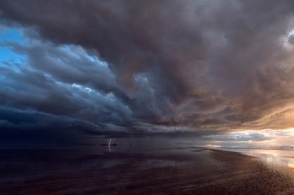 Salar De Uyuni Storm