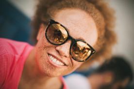 Melanie Alexander Model Schweiz Sommersprossen